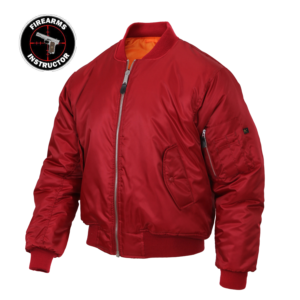 Firearms Instructor Red Jacket
