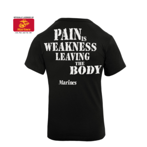 Official Marines Pain Is Weakness T-Shirt