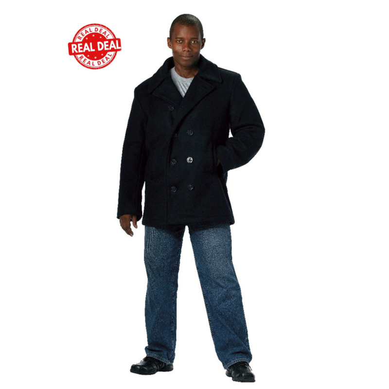 US Navy Type Wool Peacoat