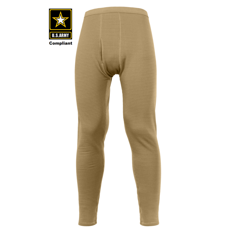 ECWCS Gen III Mid-Weight Underwear Bottoms Level II Tan 499
