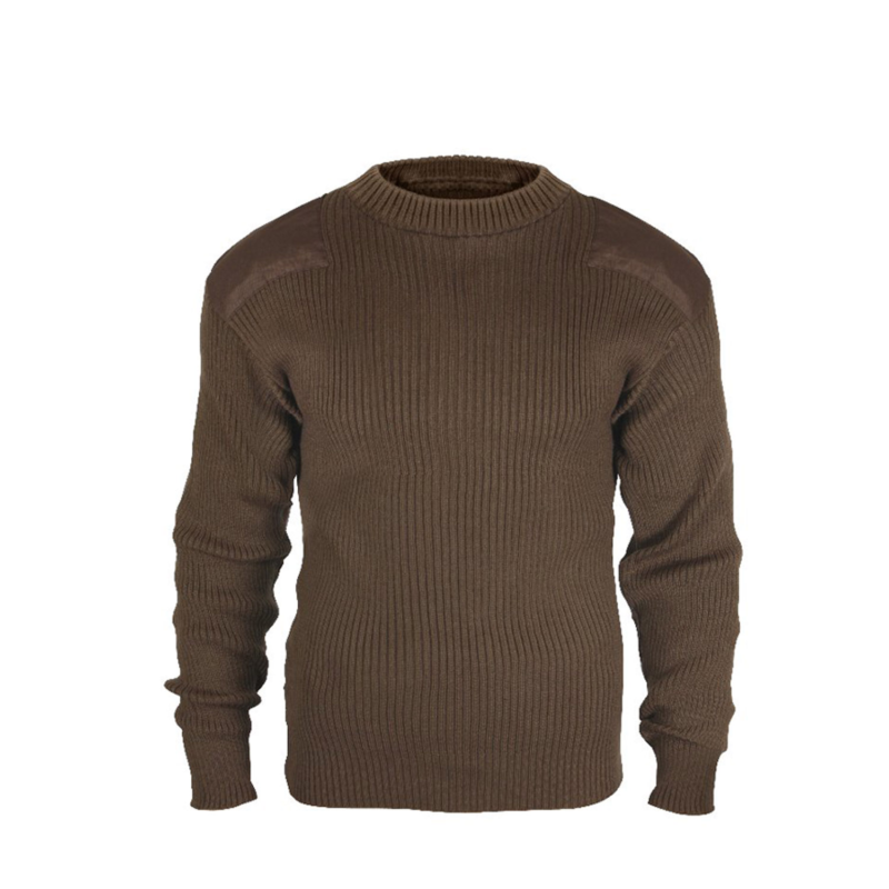 G.I. Style Brown Commando Sweater