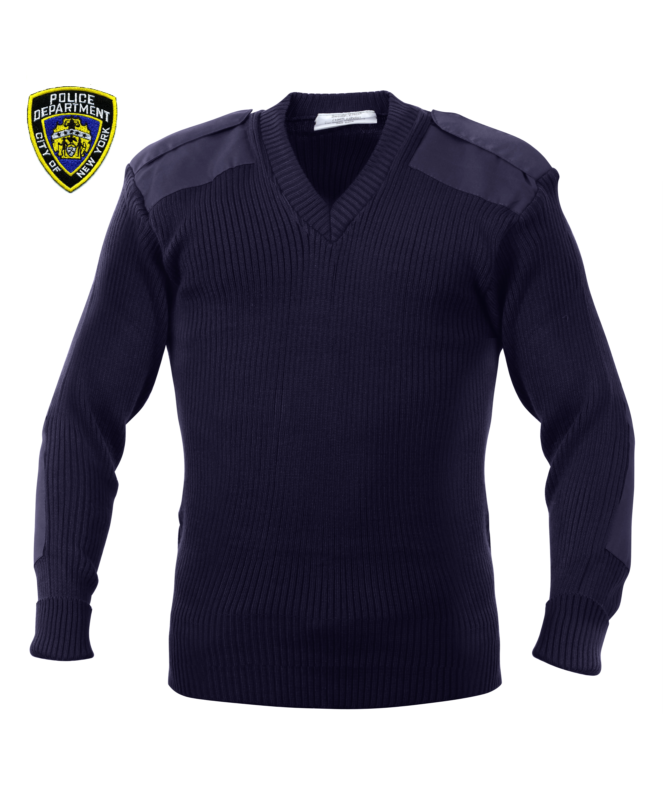 NYPD V-Neck Duty Sweater