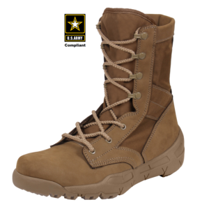 "V-Max Lightweight Tactical Boot 8.5"" AR 670-1 Coyote Brown"