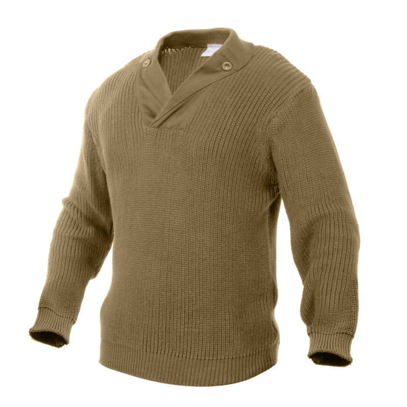 Military Mechanics Knit Sweater