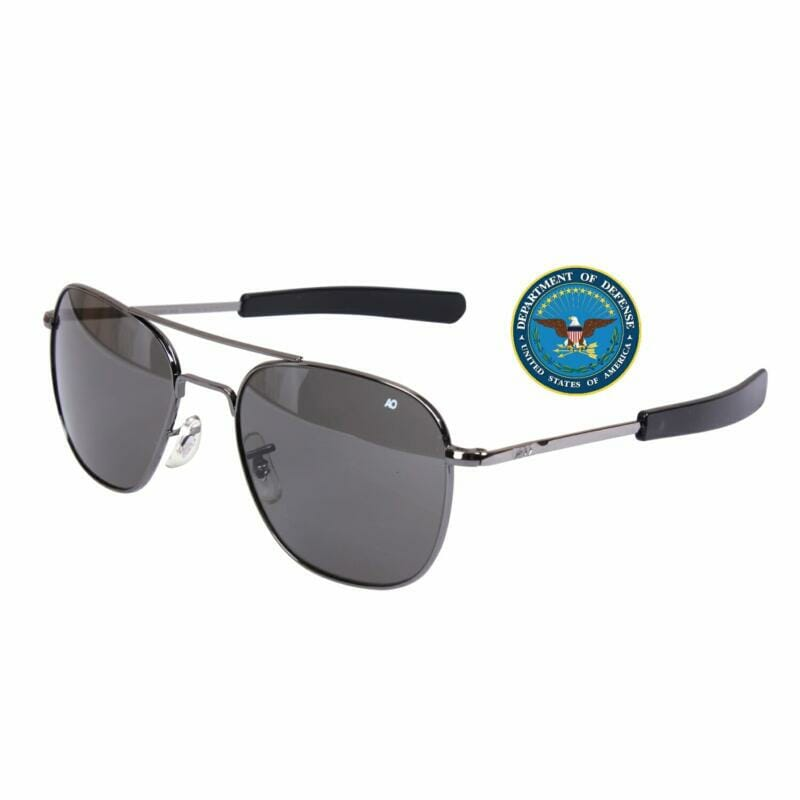 AO Pilots Military Aviator Sunglasses
