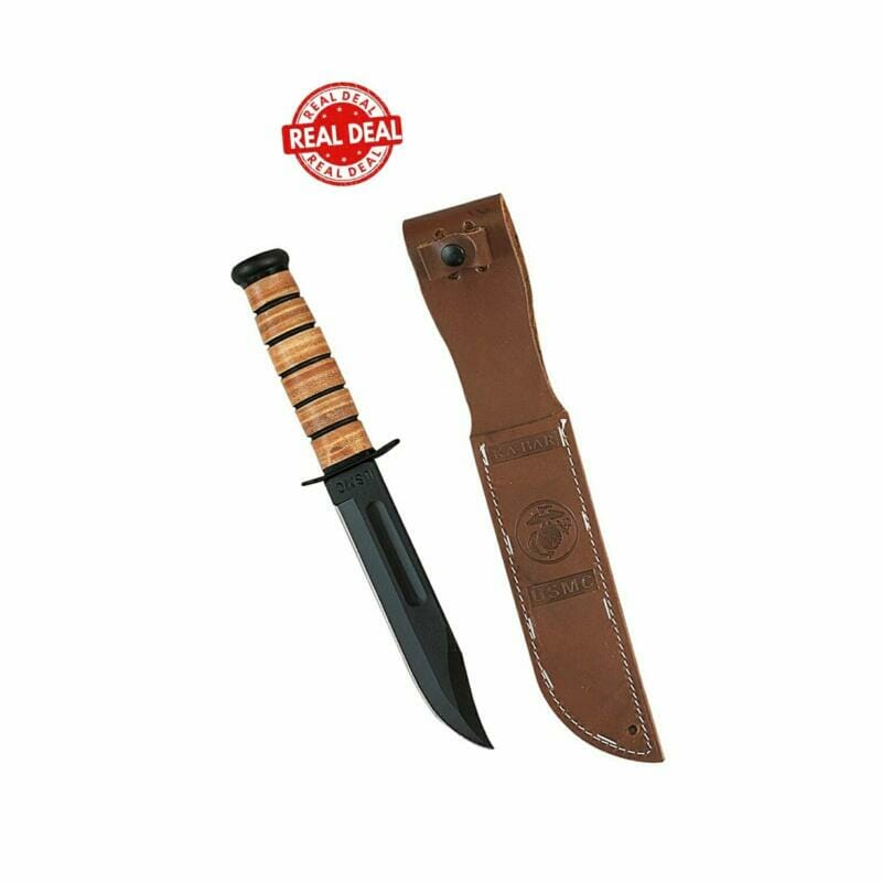 Genuine Ka-bar USMC Fighting Knife