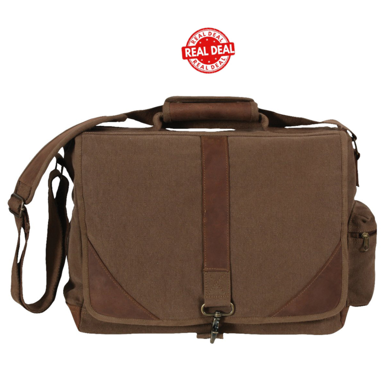 Vintage Urban  Leather Laptop Bag