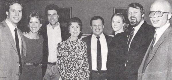Judy Reiber (center)