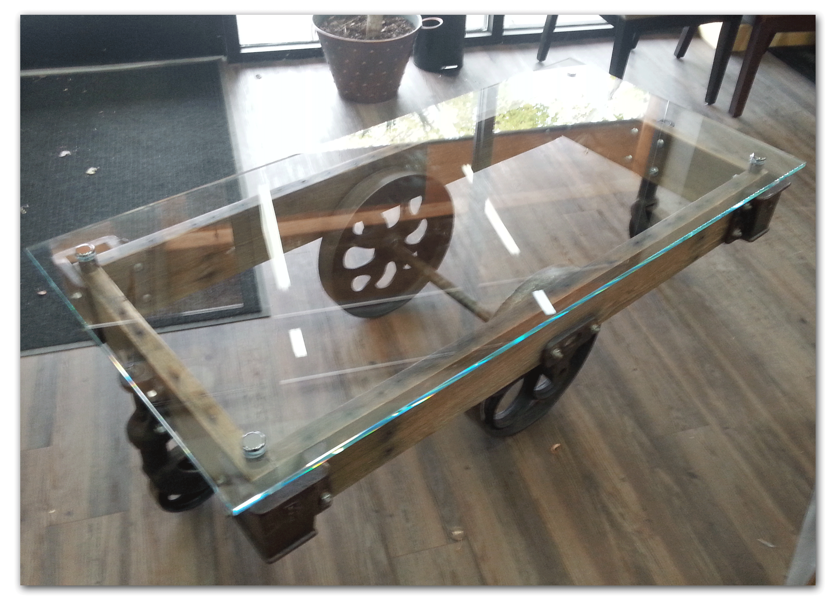 Tabletop Optiwhite Starfire Glass