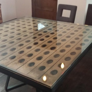 Custom tabletop, Park City