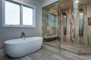 European shower and premium hardware in Park City
