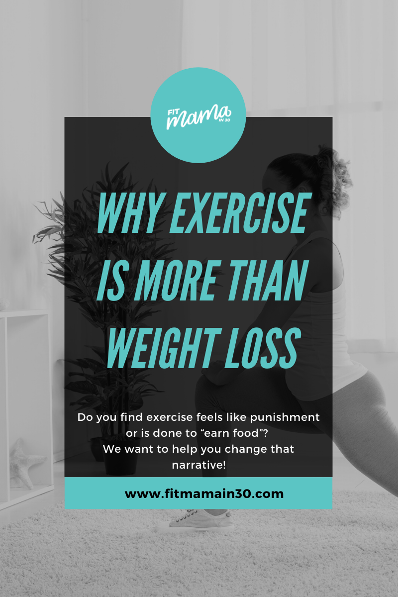 Why Exercise is About More Than Weight Loss