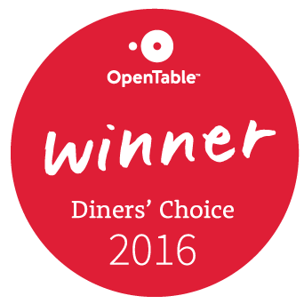 Open Table Diners Choice