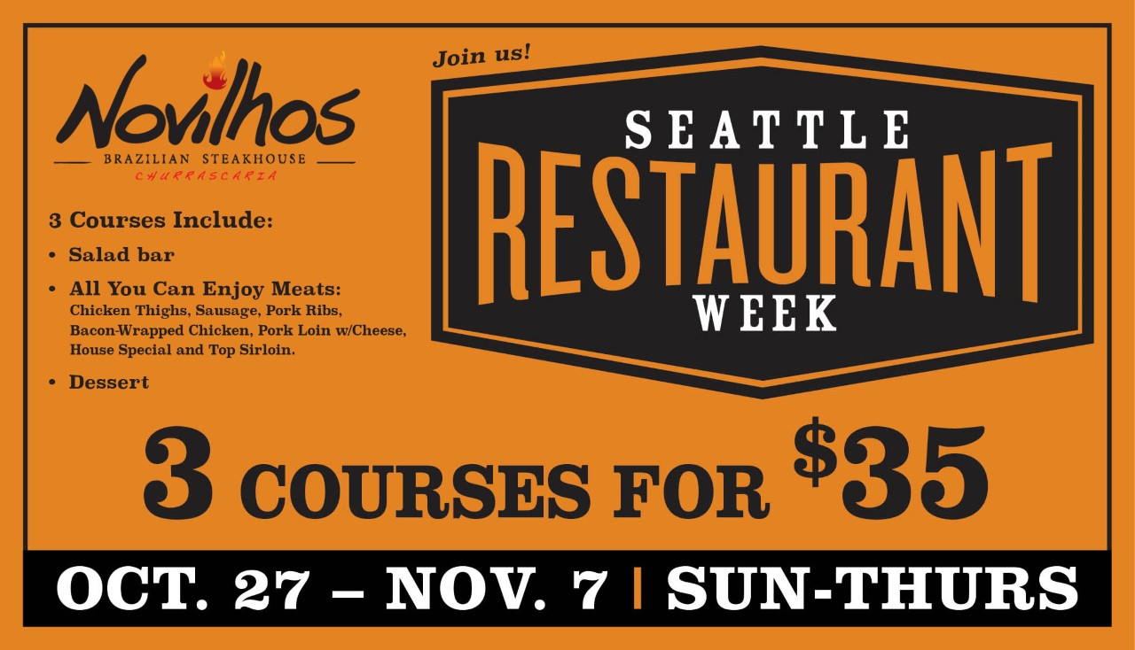 Seattle Restaurant Week 2019