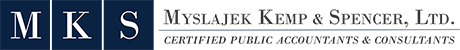 Myslajek Kemp & Spencer, Ltd. Logo