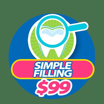 Simple Filling at Somos Dental