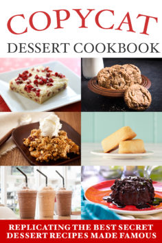 Copycat Dessert Cookbook