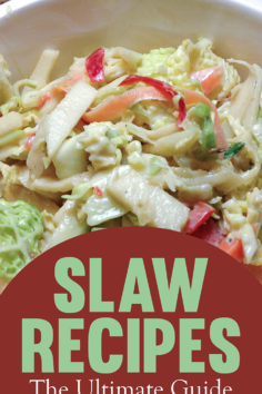 Slaw Recipes: The Ultimate Guide