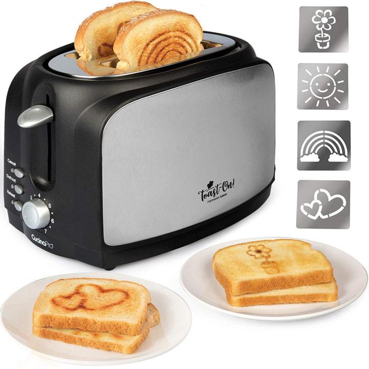 Stencil Impression Toaster