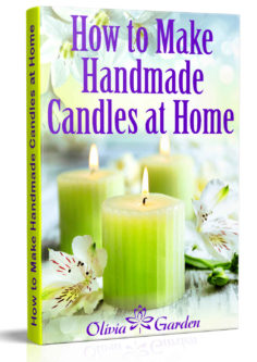 How to Make Handmade Candles at Home: Homemade Candles Book with Candles Recipes