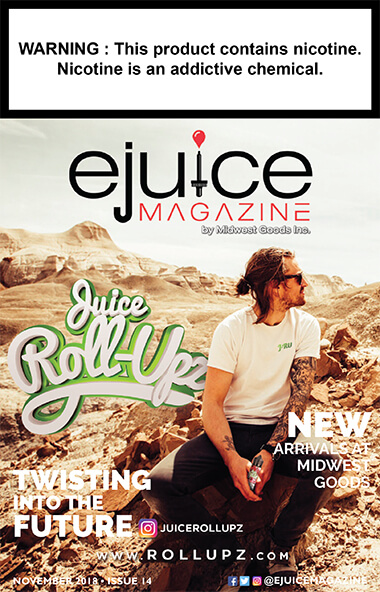 November ejuice magazine cover