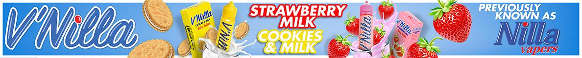 Tinted Brew Liquid Company E liquids Vnilla Cookies, Strawberries & Cream