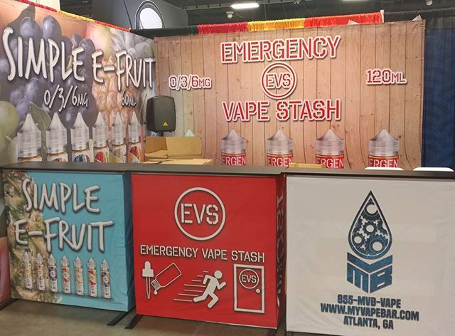 My vape Bar E-liquid Booth