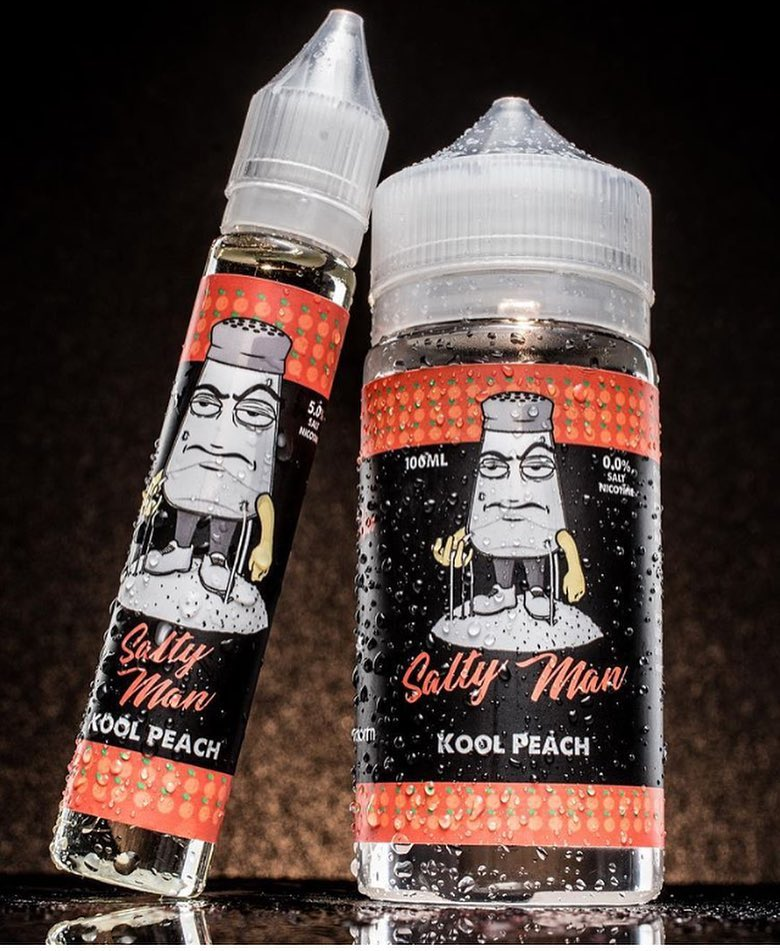SALTY MAN COOL PEACE EJUICE