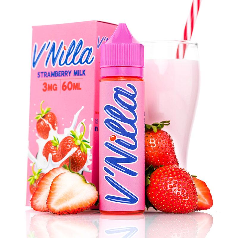 Tinted Brew Liquid Company E liquids Vnilla Strawberries & Cream