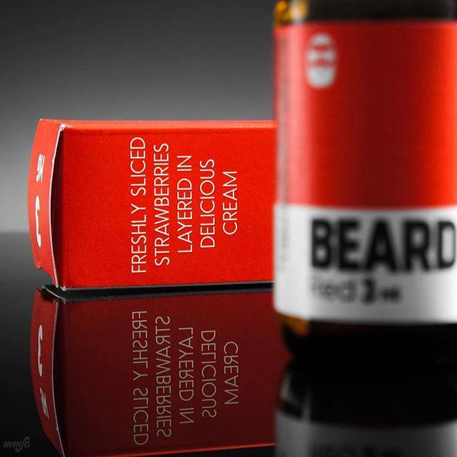 beard vape eliquid red