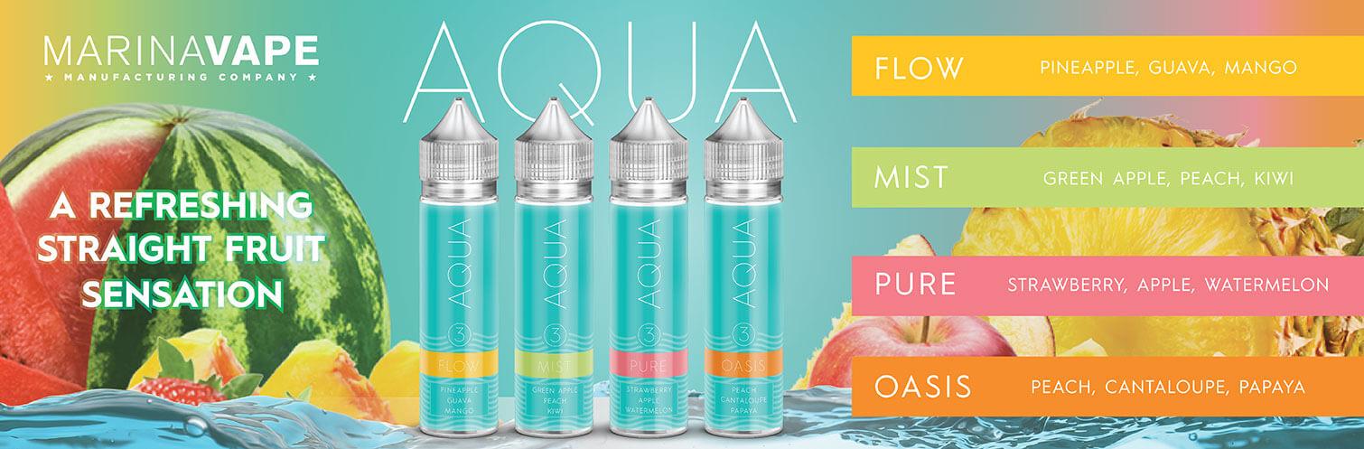 Aqua E-liquid 60ml by Marina Vape