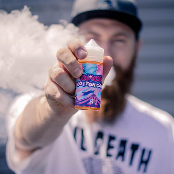 circus cotton candy ejuice puff labs