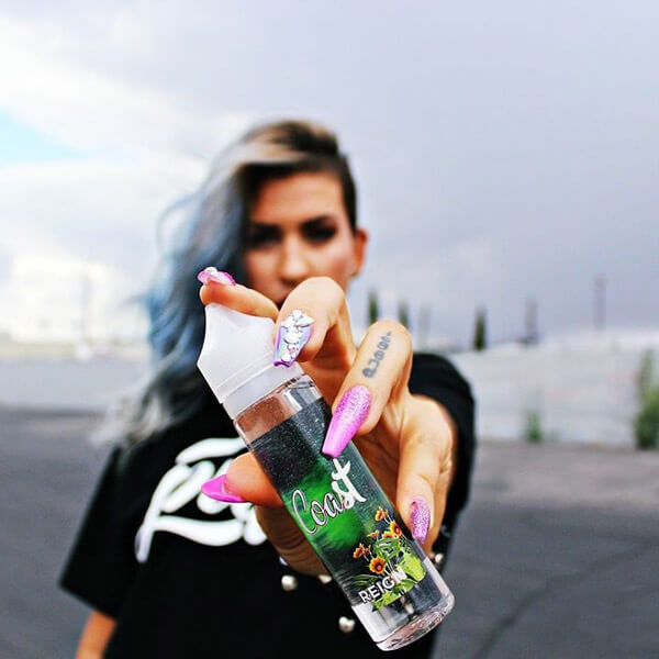reign coast ejuice puff labs