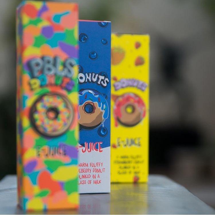 Donuts E-liquid by Marina Vape