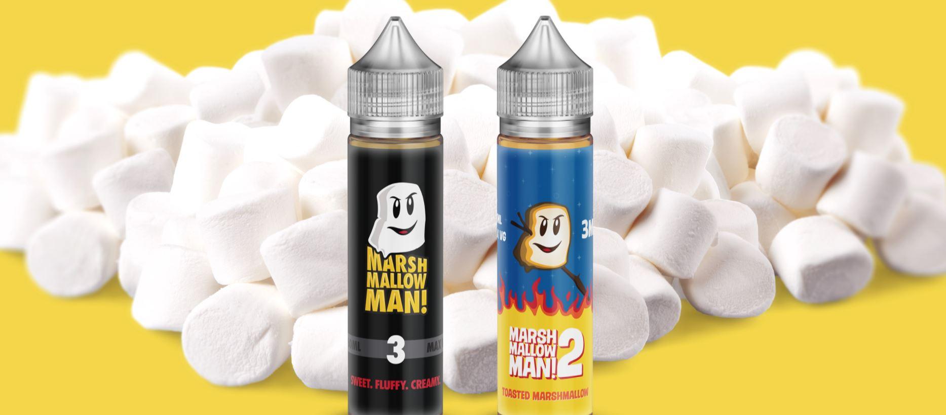 Marshmallow Man E-liquid 60ml by Marina Vape