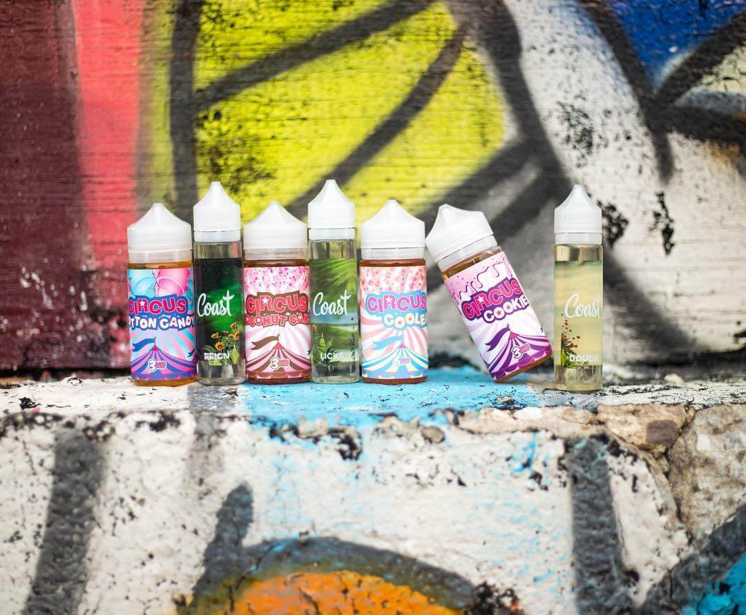 2 lines of puff labs ejuice