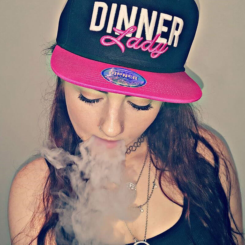 vape dinner lady ejuice hat merch 2 ejuice