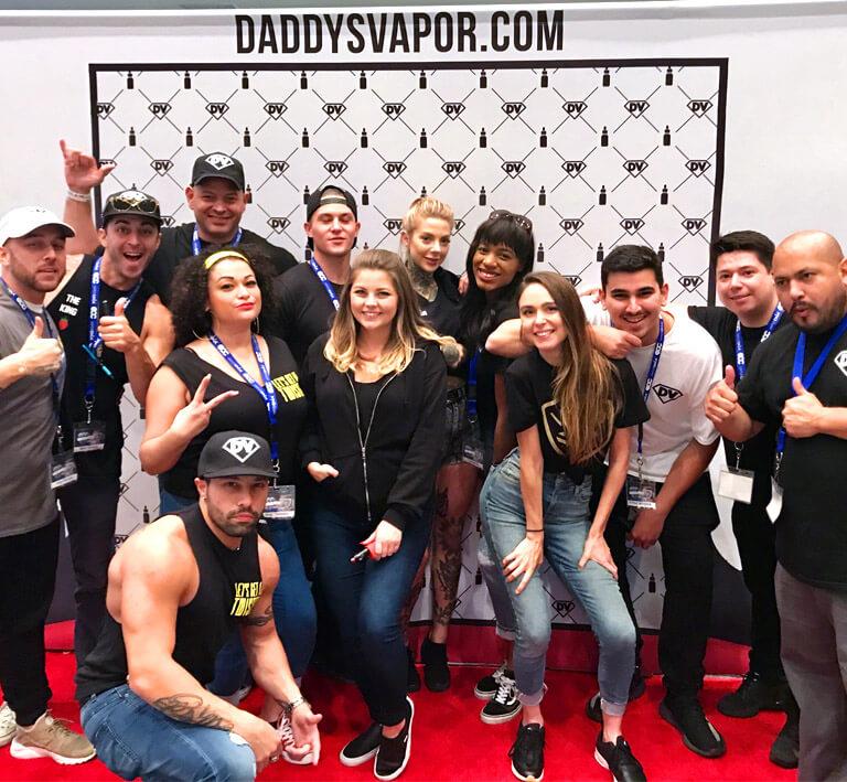 daddys Vapor Team Photo