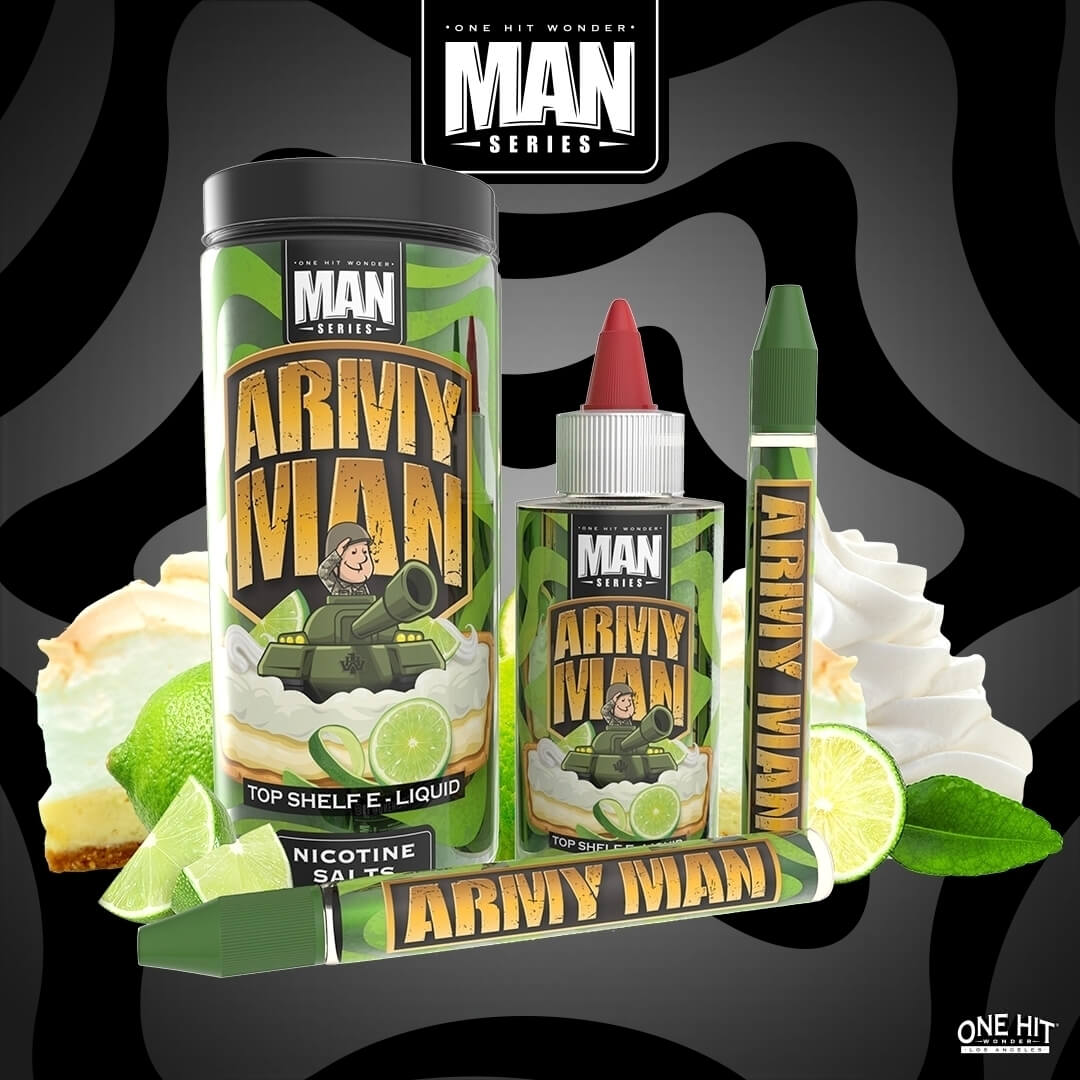 One Hit Wonder May 2018 E Juice Magazine Interview Army Man