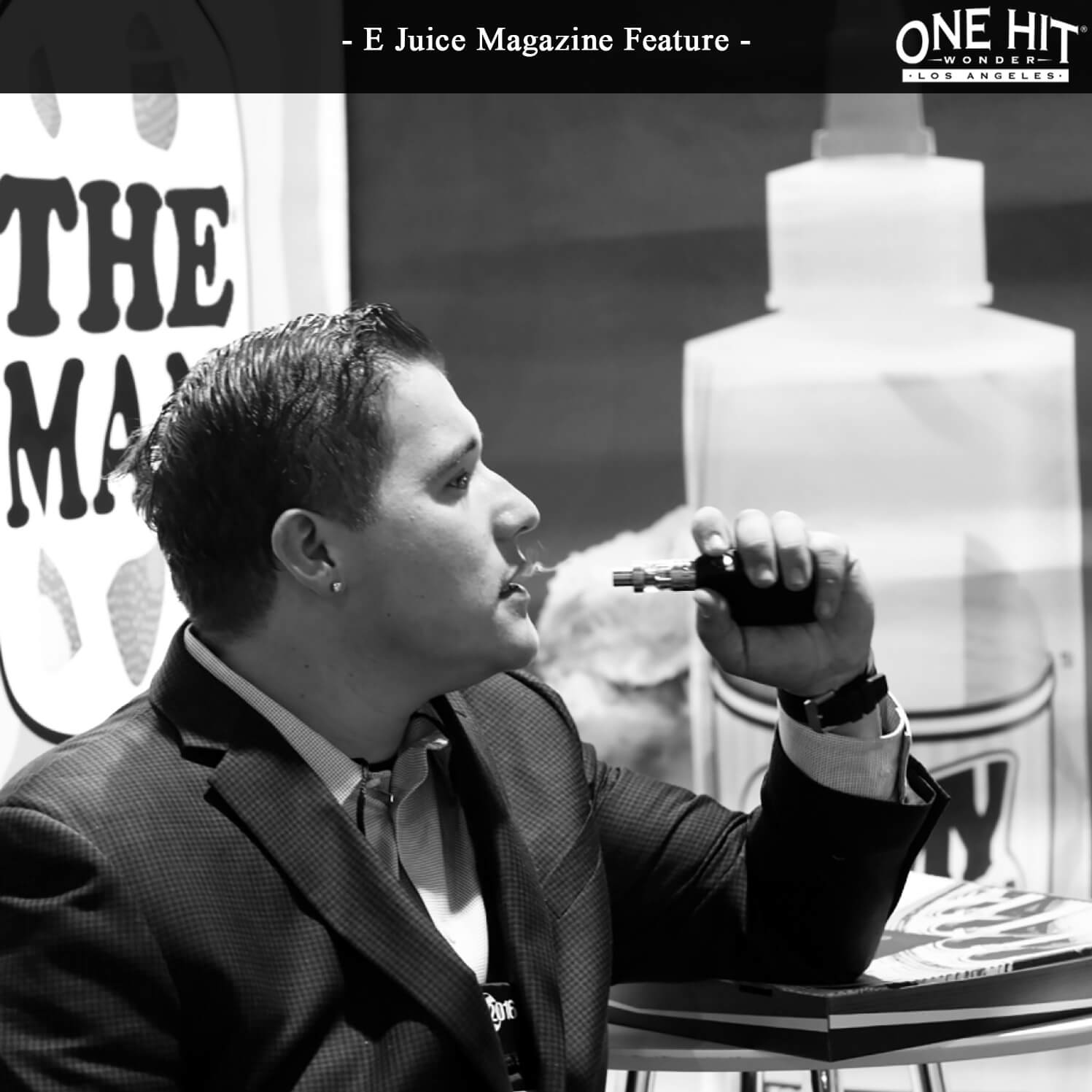 One Hit Wonder May E Juice Magazine Social Media