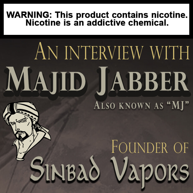 Sinbad vapors Eliquid ejuice magazine featured