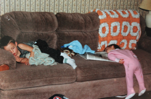 The Lester's two children (Photo/Sandee Lester)