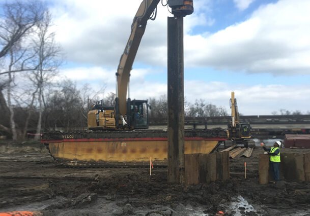 Sheet & Pipe Pile Driving