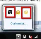 Background programs running on my Window 7 computer.