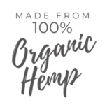 Made From 100% Organic Hemp