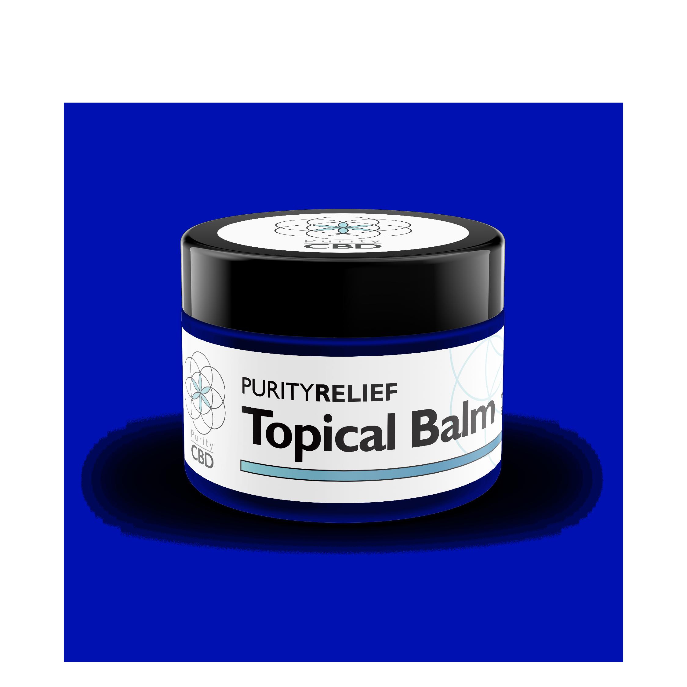 PurityRelief™ Topical CBD Balm (500mg)
