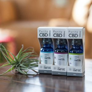 Purity CBD™ Oil Tinctures - Organic Full-Spectrim CBD