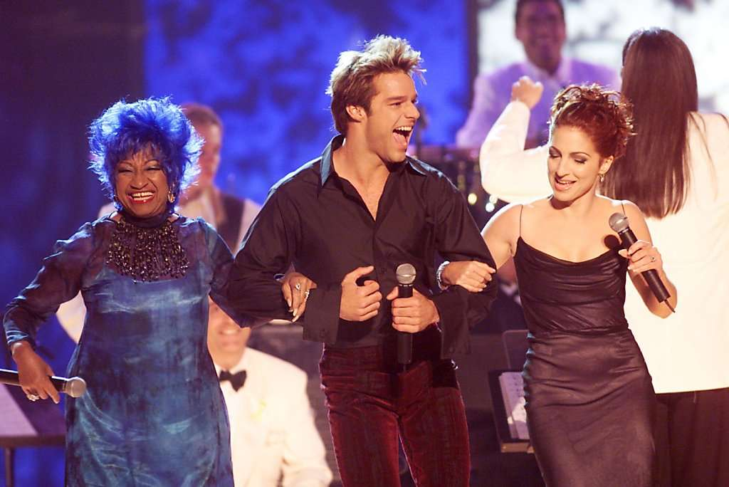 http://www.gettyimages.co.uk/detail/news-photo/celia-cruz-ricky-martin-and-gloria-estefan-perform-during-news-photo/2221430