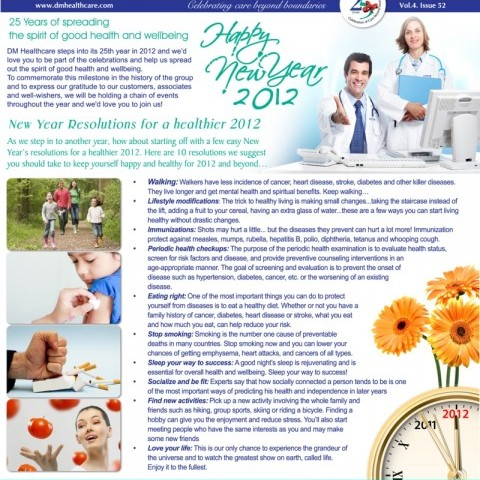 Health Reach – New Year Special