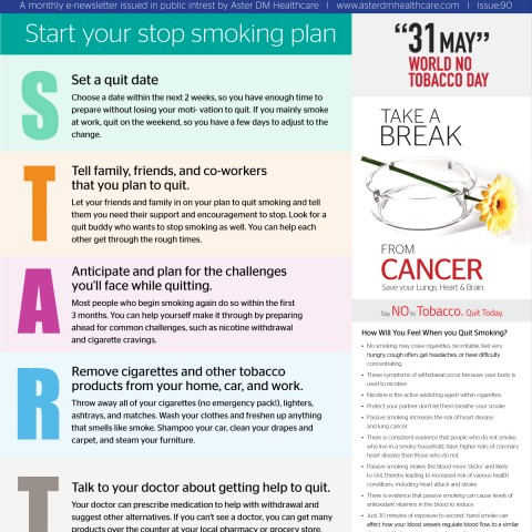 Health Reach issue 89 - Start your stop smoking Plan now